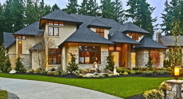 красивые загородные дома фото - 10