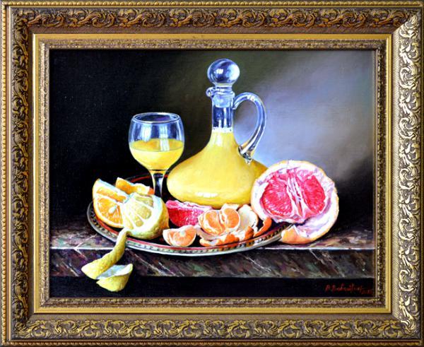 Картина маслом – эксклюзивный штрих в интерьере