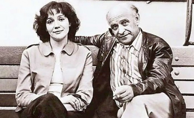 Ролан Быков и Елена Санаева. / Фото: www.mycdn.me
