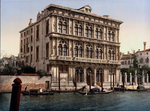 Фото: Замечательные цветные снимки Венеции 1890-х годов (Фото)