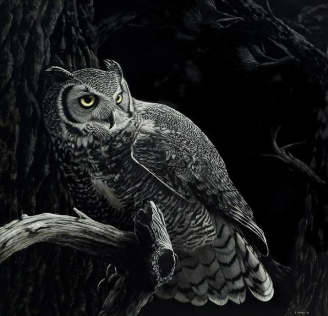 Удивительные картины Кэти Шитер настольно детально «прорисованы», что их часто путают с фотографиями.