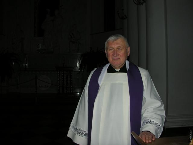 Настоятель собора отец Юзеф Павлюк