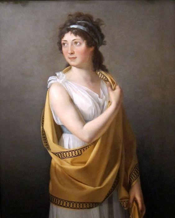 О полупрозрачных платьях Тальен французы говорили: *как из ванны вылезла*. Они просвечивали как мокрые сорочки.