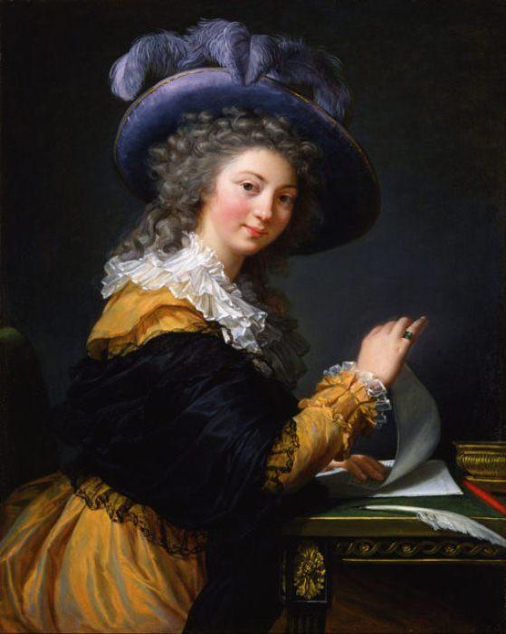 Портрет дамы с письмом.