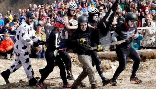 Фестиваль в Колорадо «Дни замороженного мертвеца».
