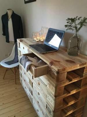 Оригинальные способы превратить старые вещи в мебель. Фото